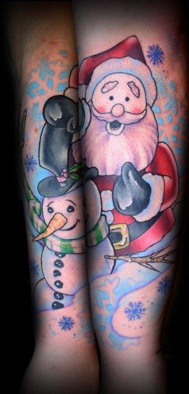Новогодние татуировки (фото) - фото 2