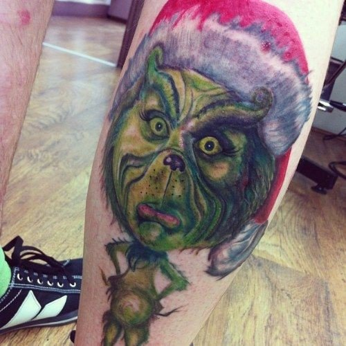 Новогодние татуировки (фото) - фото 3