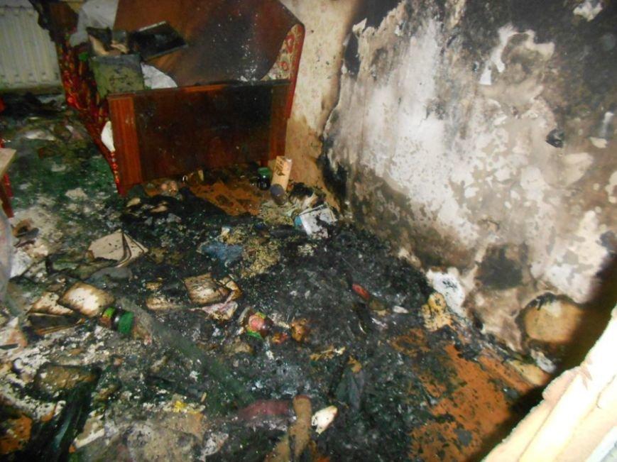 На Полтавщине горела квартира в пятиэтажном доме. Эвакуированы 10 человек (ФОТО) (фото) - фото 1