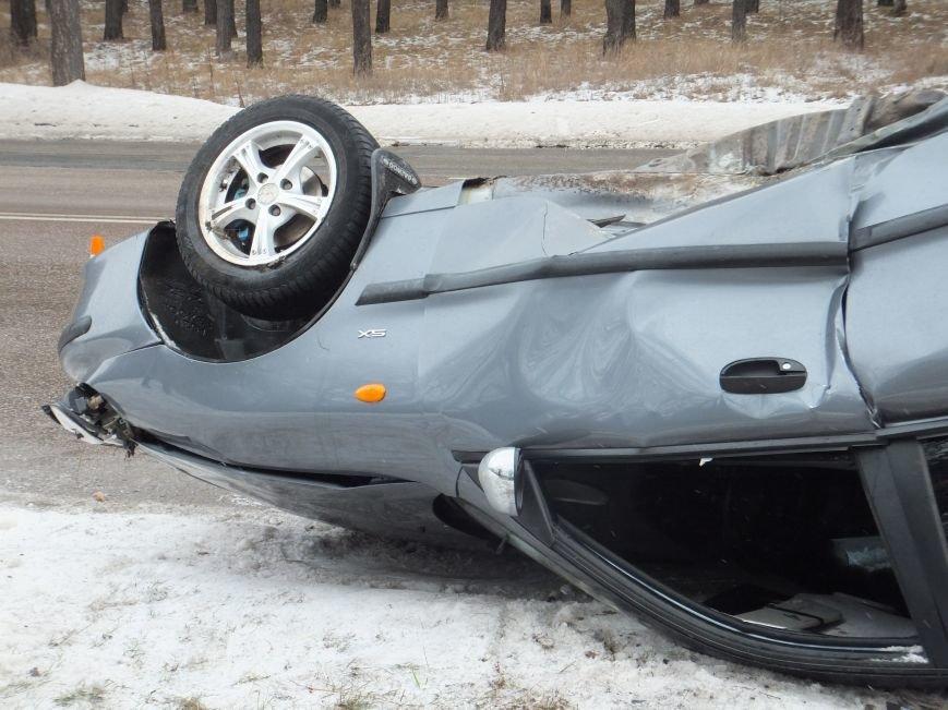 В Кировограде перевернулся автомобиль (фото) (фото) - фото 1