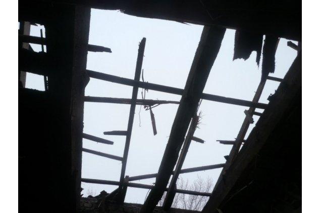 Фронтовая Горловка: Результаты новогоднего обстрела. ФОТОФАКТ (фото) - фото 1