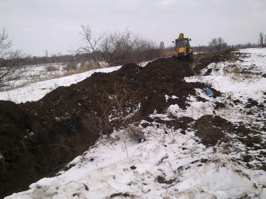 В Кривом Роге неизвестные выкопали и вывезли более 1,5 км  труб большого диаметра  (ФОТОФАКТ), фото-8