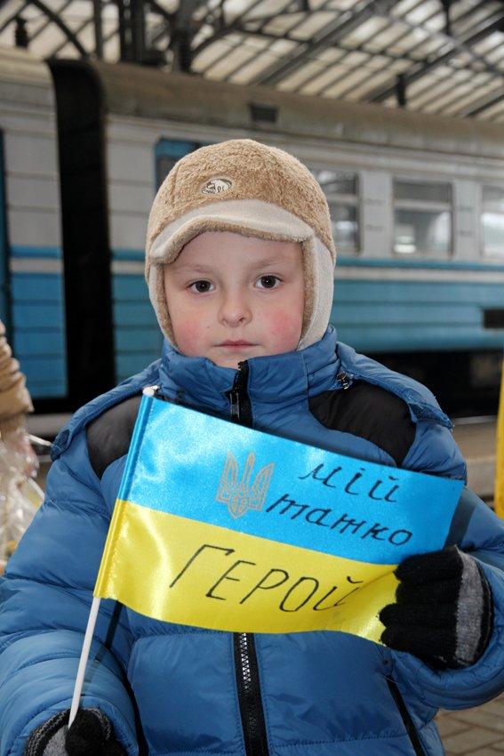 Сьогодні до Львова приїхали 350 Героїв АТО (ФОТОРЕПОРТАЖ) (фото) - фото 12