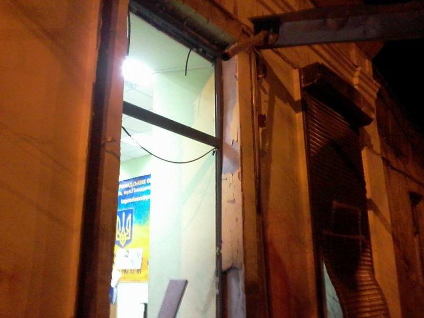 Очередной теракт в Одессе: взорвали вход в Координационный центр Евромайдана (ФОТО), фото-5