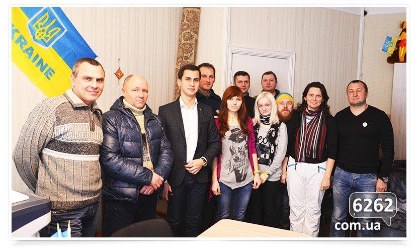 В Славянске активисты встретились с советником губернатора. (фото) - фото 1