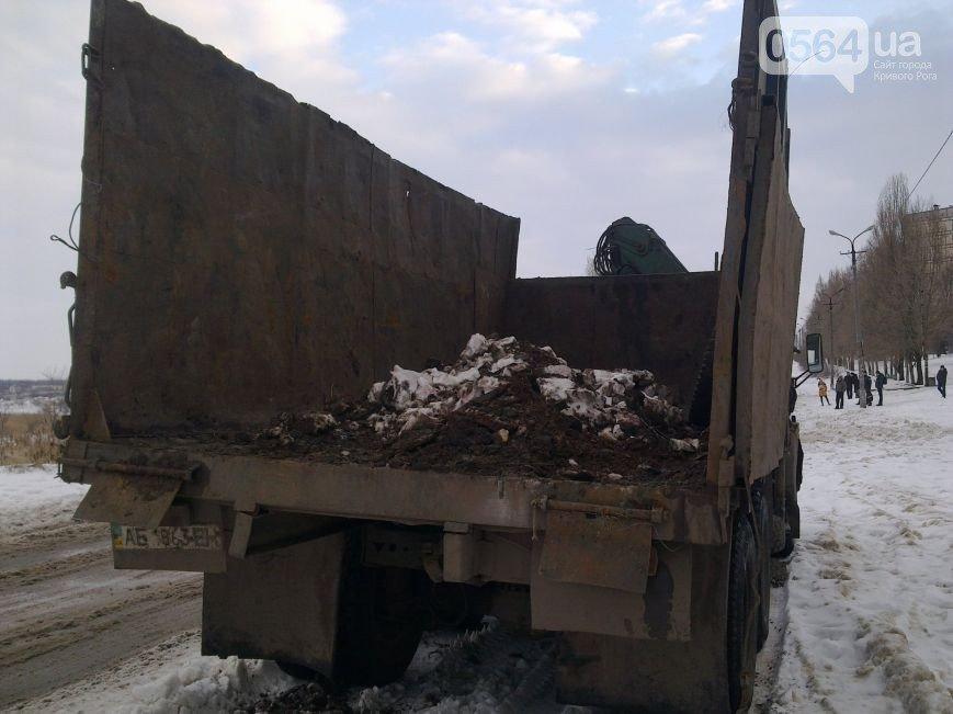 В Кривом Роге активисты высыпали под особняк мэра 5 т снега, поймали наркоторговцев и «черных металлистов» (фото) - фото 4