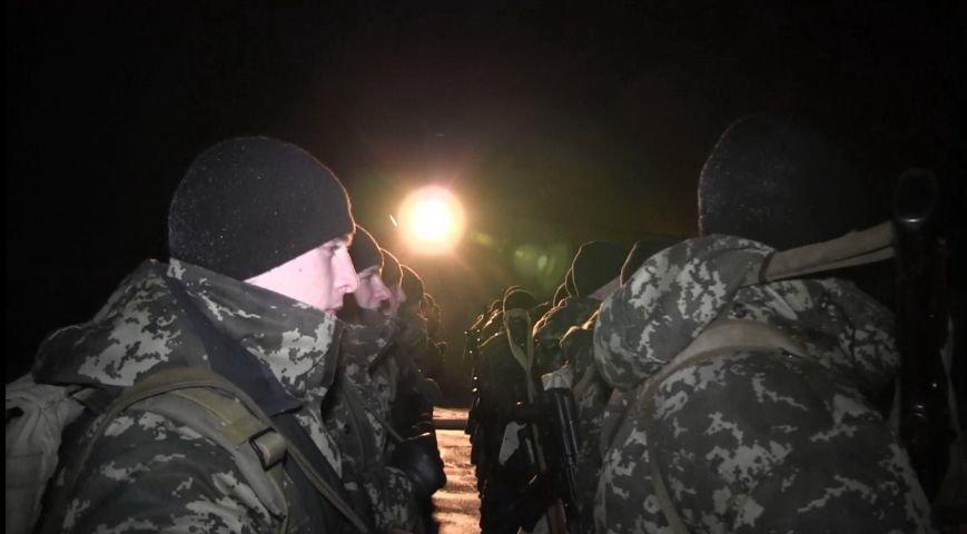 Тернопільські бійці Нацгвардії поїхали в зону АТО (фото) (фото) - фото 1