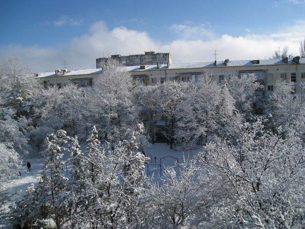 Симферопольцы в соцсетях делятся живописными снимками заснеженного города (ФОТО) (фото) - фото 8