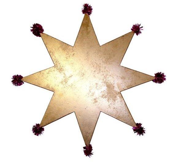 Делаем рождественскую звезду (мастер-класс + фото) (фото) - фото 3