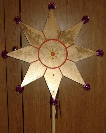 Делаем рождественскую звезду (мастер-класс + фото) (фото) - фото 4