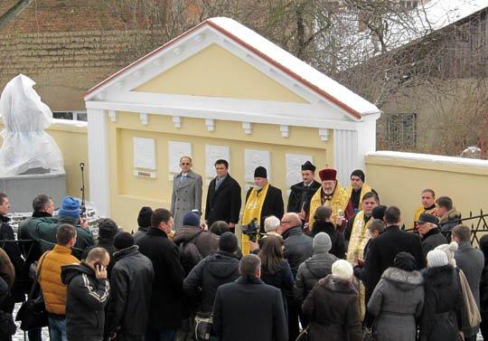 В Ужгороді відкрили пам'ятник Марії-Терезії (фото) - фото 1