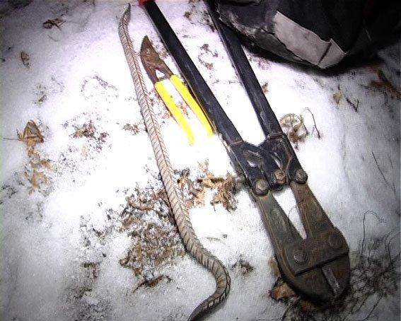 В Сумах милиция задержала воров цветного металла (ФОТО, ВИДЕО) (фото) - фото 1