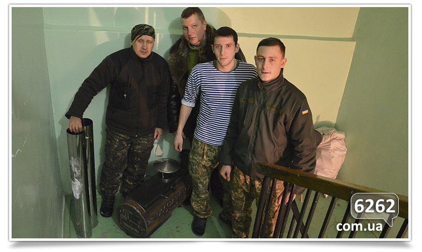 Волонтёры из Славянска доставили помощь бойцам батальона Айдар в Счастье (фото) - фото 2
