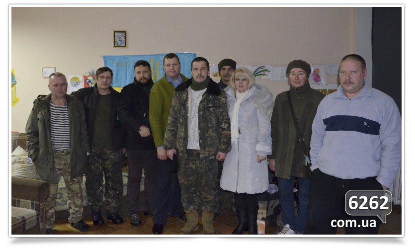 Волонтёры из Славянска доставили помощь бойцам батальона Айдар в Счастье (фото) - фото 3