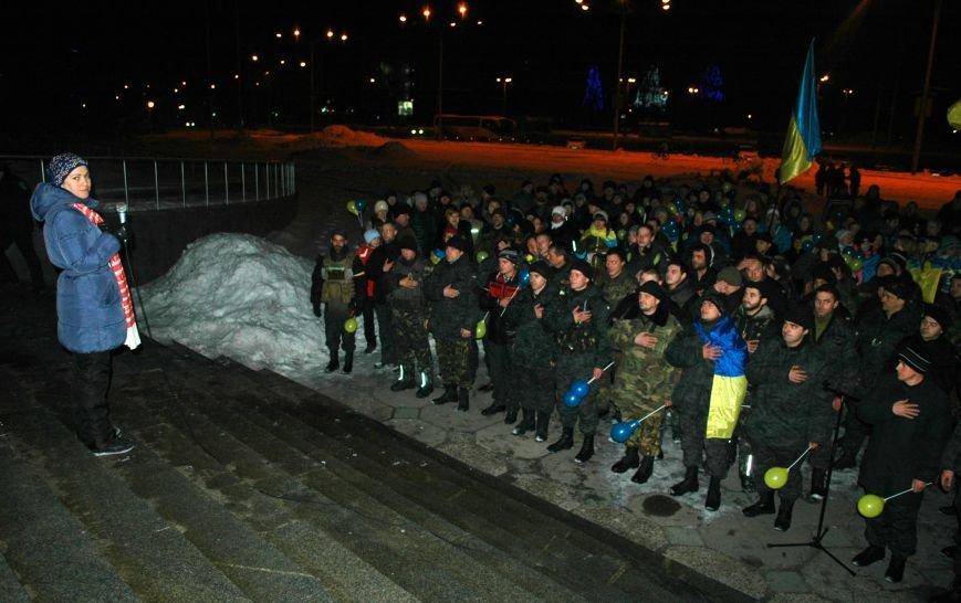 ФОТОРЕПОРТАЖ: В Запорожье встретили бойцов Нацгвардии с блокпостов в зоне АТО, фото-11
