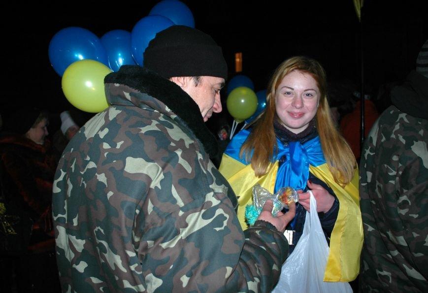 ФОТОРЕПОРТАЖ: В Запорожье встретили бойцов Нацгвардии с блокпостов в зоне АТО, фото-20
