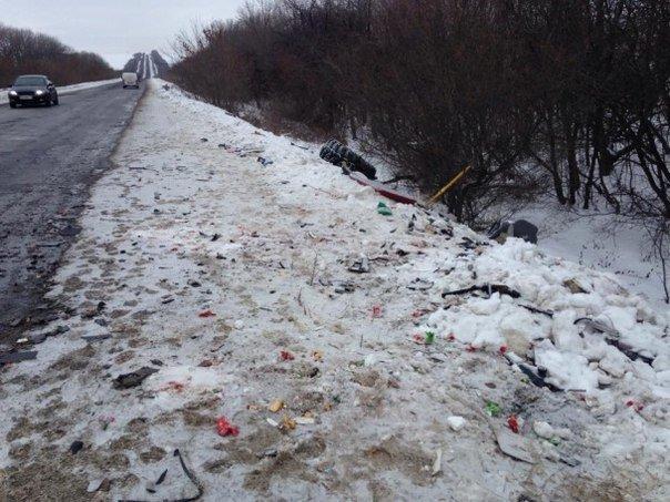 13 украинских бойцов погибли в результате ДТП (Дополнено) (фото) - фото 1