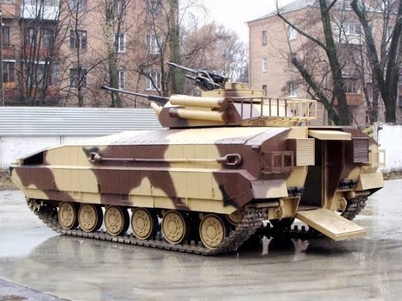 «Харьковский бронетанковый завод» выпустил БМП, которая выдерживает прямое попадание из гранатомета (ФОТО), фото-2