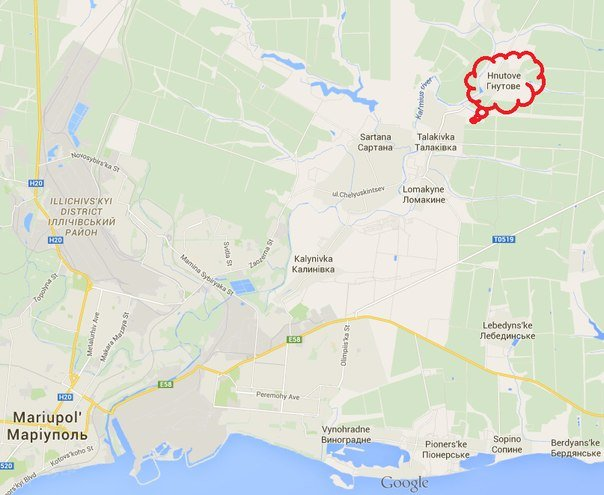 Под Мариуполем обстреляны позиции «Азова» (фото) - фото 1