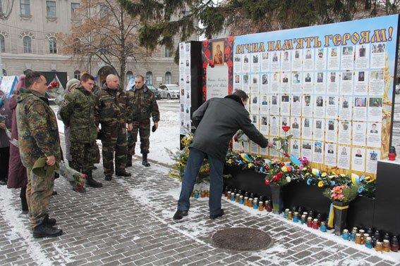 Погибших в АТО черниговцев наградили орденами (фото) - фото 1