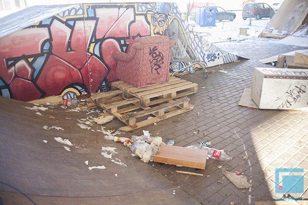 Гродненский скейт-парк за 4 месяца превратился в руины (Фото) (фото) - фото 4