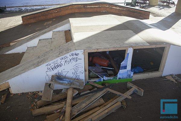 Гродненский скейт-парк за 4 месяца превратился в руины (Фото) (фото) - фото 2