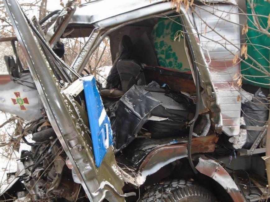 В ДТП у зоні АТО загинули двоє львів'ян (фоторепортаж з місця аварії) (фото) - фото 7