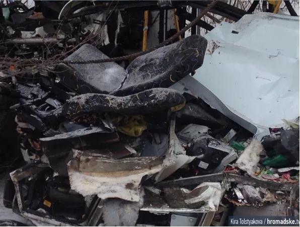 В ДТП у зоні АТО загинули двоє львів'ян (фоторепортаж з місця аварії) (фото) - фото 4