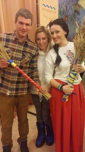 Українські зірки змайстрували дідуха та приготували кутю (ФОТО) (фото) - фото 3