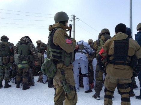 Как «киборгов», прибывших на ротацию, обыскивают «ДНРовцы» (ВИДЕО, ФОТО), фото-9
