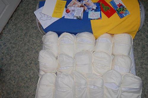 Рождественские подарки на «передовую»: павлоградцы передали маскировочные халаты (ФОТО) (фото) - фото 1
