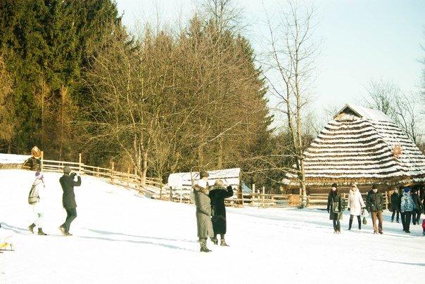 Різдво у Шевченківському гаю: забави, майстер-класи та конкурси (ФОТОРЕПОРТАЖ) (фото) - фото 4