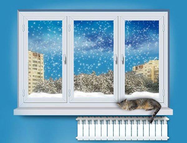 Зимние холода - не помеха для замены старых окон (фото) - фото 1