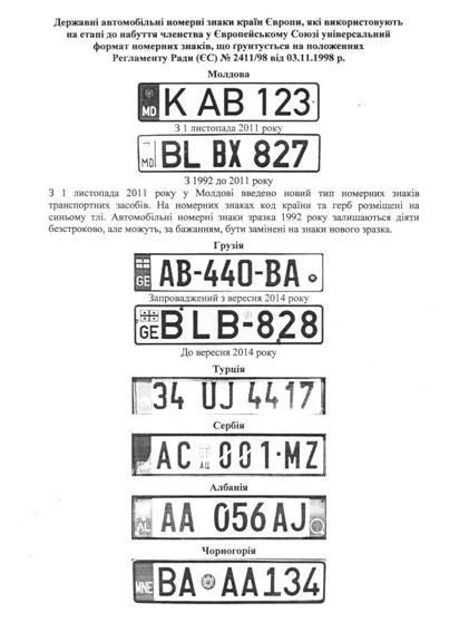 Сумчане получат новые европейские автомобильные номерные знаки (фото) - фото 2
