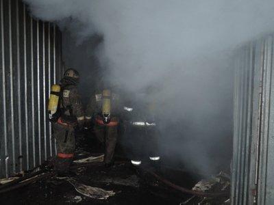 В сгорела СТО. Обошлось без пострадавших (ФОТО) (фото) - фото 1