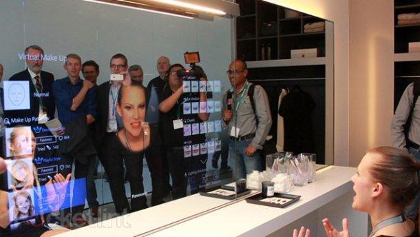 Panasonic представила «Умное зеркало», которое дает советы красоты (фото) - фото 1