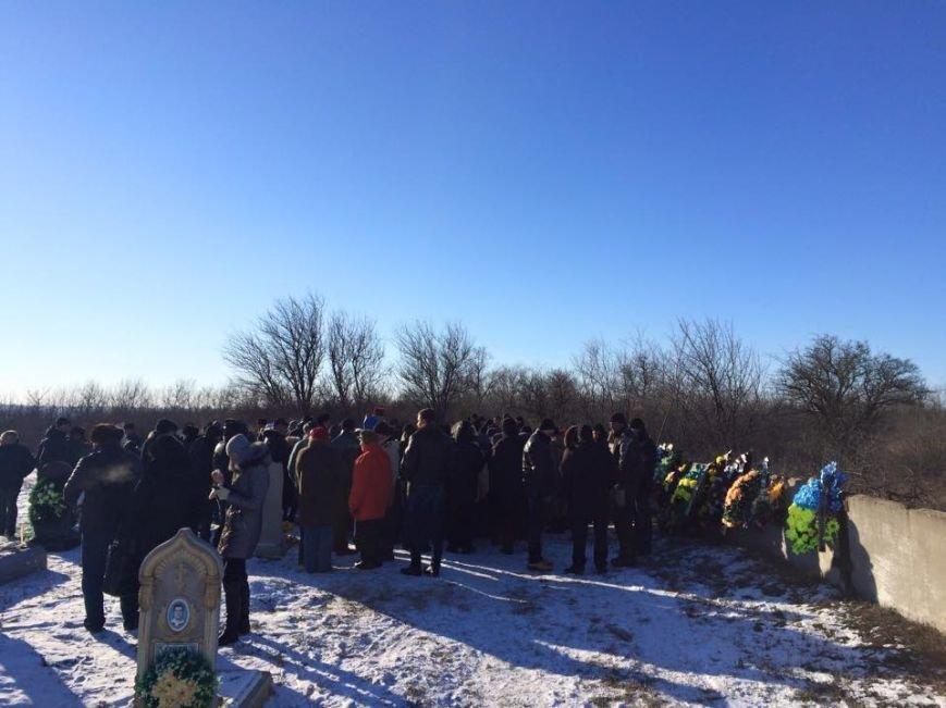В Запорожской области похоронили бойца, погибшего в ДТП на Донбассе (ФОТО), фото-1