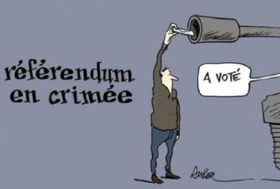 Французский «Charlie Hebdo», в редакции которого произошел теракт, высмеивал референдум в Крыму (ФОТО, ВИДЕО) (фото) - фото 1