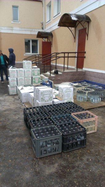 В Зельвенском районе задержали гродненца с 1500 бутылок российской водки (Фото, Видео) (фото) - фото 2