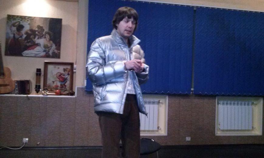 Театральный режиссер Глеб Афендик провел мастер-класс в Днепродзержинске, фото-1
