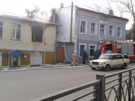 В Ялте горело здание полицейского участка (ФОТО, ВИДЕО) (фото) - фото 6