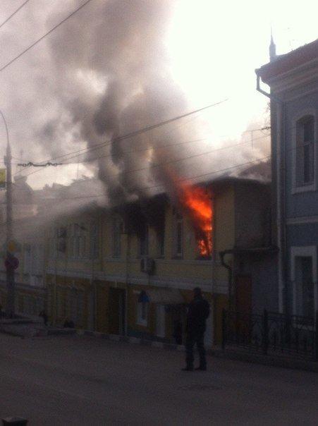 В Ялте горело здание полицейского участка (ФОТО, ВИДЕО) (фото) - фото 2