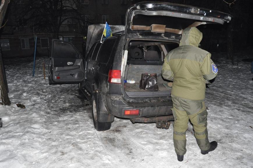 В Запорожье сожгли машину местной Самообороны (ФОТО), фото-4