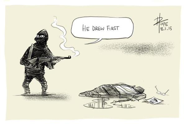 О теракте в Париже, свободе слова и Украине (фото) - фото 1
