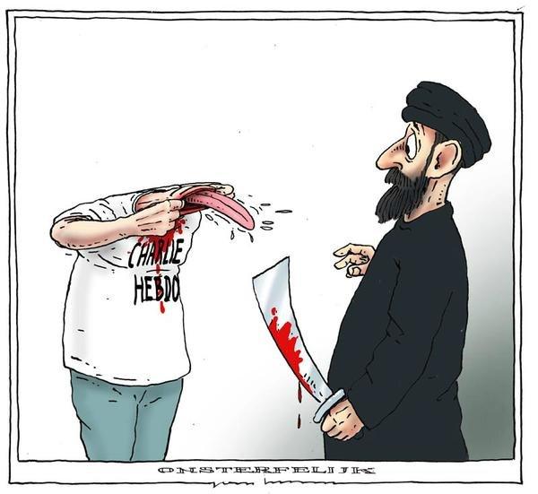 О теракте в Париже, свободе слова и Украине (фото) - фото 3