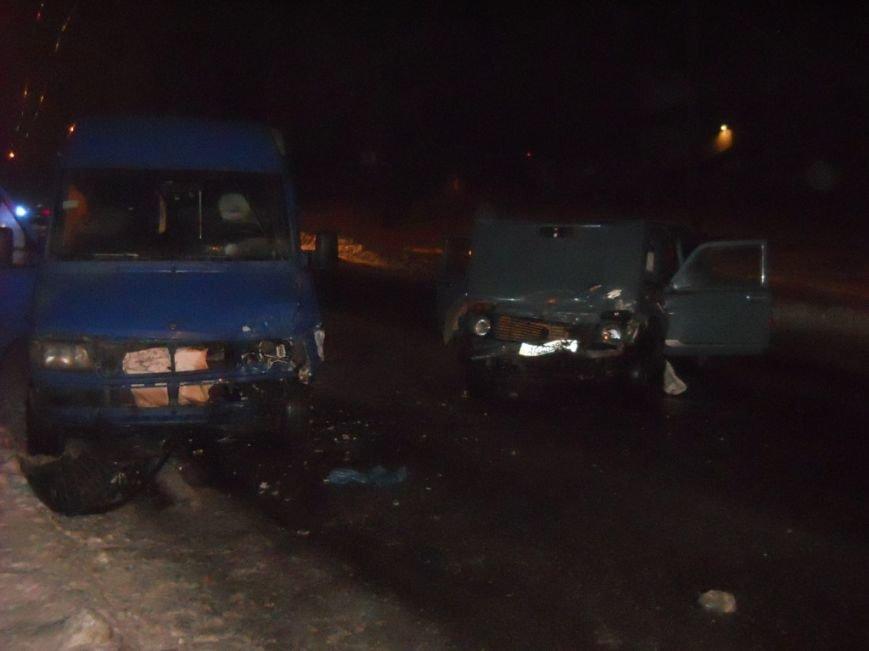 В Запорожье маршрутку с пассажирами протаранил ВАЗ – есть пострадавшие (ФОТО) (фото) - фото 3