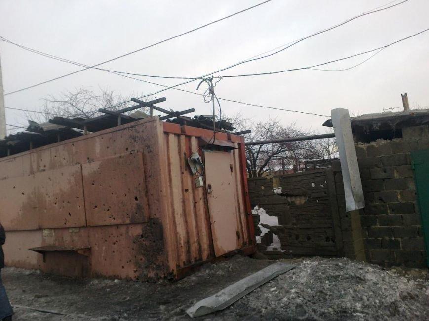 В Донецке из-за обстрелов сегодня многочисленные разрушения (ФОТО) (фото) - фото 1