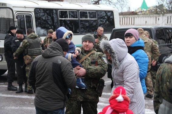 На Донбасс уехала очередная группа черниговских милиционеров (фото) - фото 1