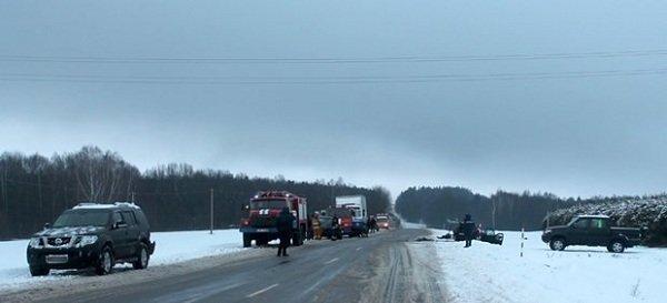 В ДТП в Новогрудском районе погибло 4 человека (Фото, видео) (фото) - фото 1