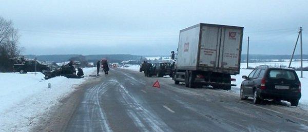 В ДТП в Новогрудском районе погибло 4 человека (Фото, видео) (фото) - фото 2